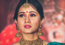 harshika poonacha gold jewellery