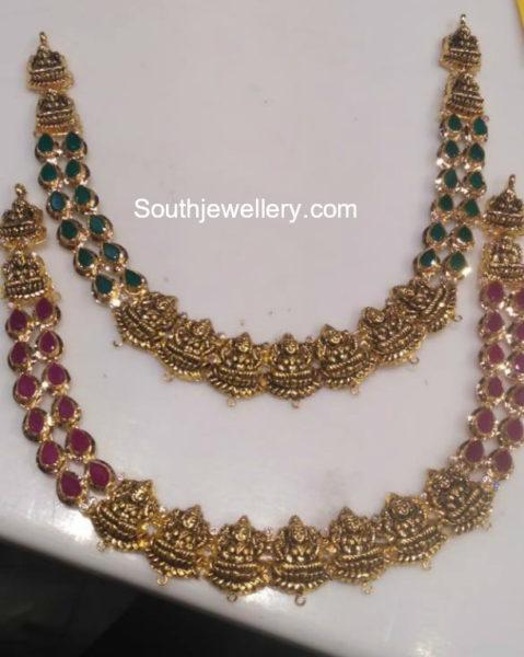 lakshmi necklac designs