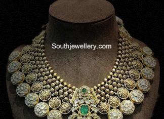 uncut diamond kundan necklace