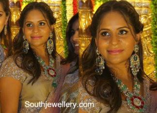 anushpala kamineni jewellery anirudh reddy wedding