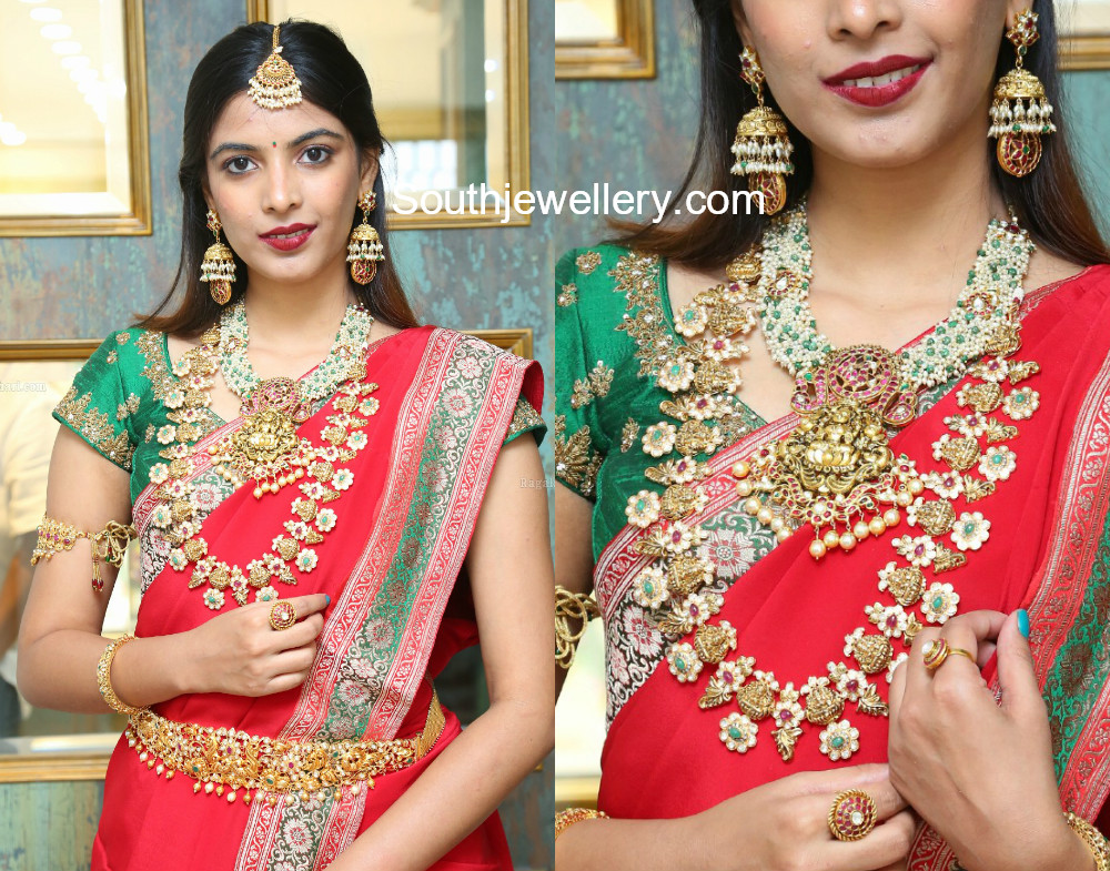 gold necklace designs by hiya jewellery