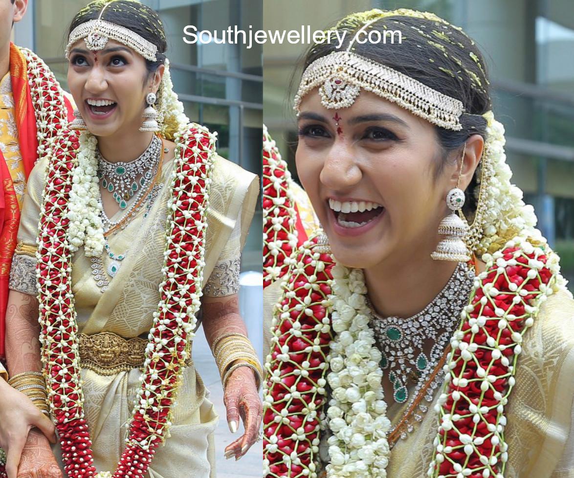 neha reddy wedding jewellery