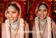 shriya bhupal wedding jewellery