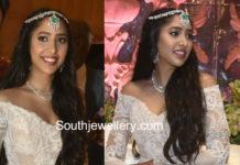 shriya bhupal sangeet jewellery