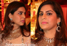 upasana kamineni jewellery in shriya bhupal wedding