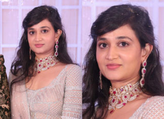 bride deepthi sai diamond jewellery