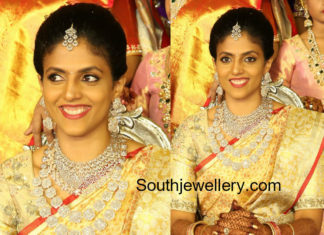 harika dronavalli wedding jewellery