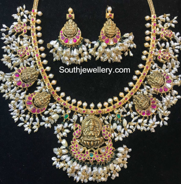 lakshmi guttapusalu necklace