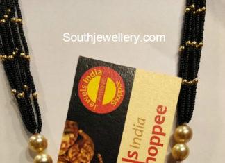 nallapusalu long chain with pendant