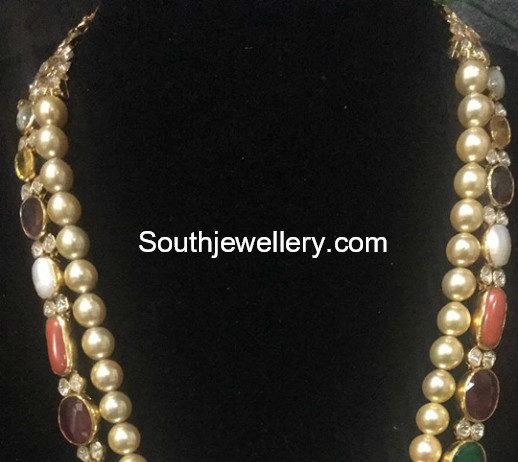 pearl and navrathan mala