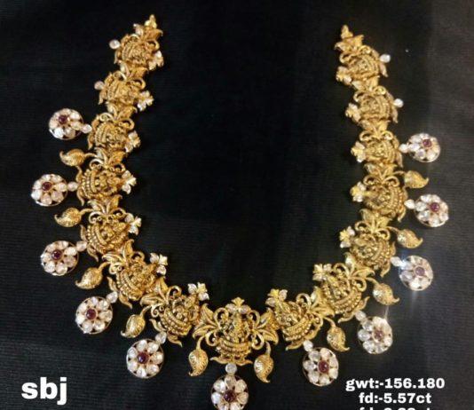 latest temple jewellery designs 2018