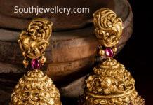 antique gold buttalu