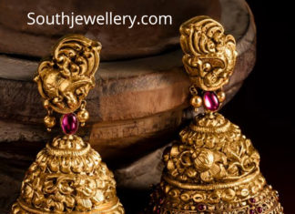 antique gold buttalu