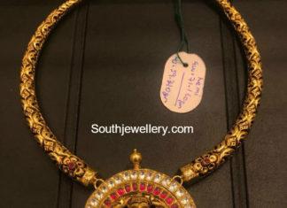 kanthi nekclace ganesh pendant