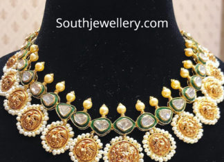 lakshmi polki diamond necklace (1)