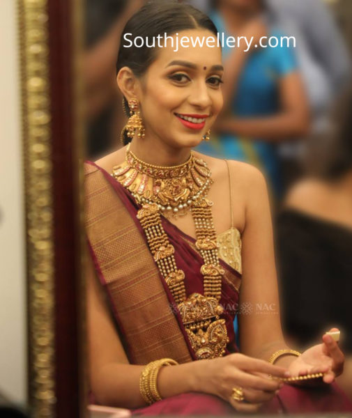 nac traditional gold jewellery