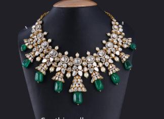 polki jadau necklace