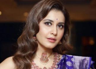 raashi khanna ruby jewellery