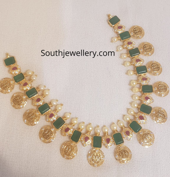 ram sita kasu necklace