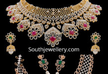 vaibhav jewellers diamond necklaces