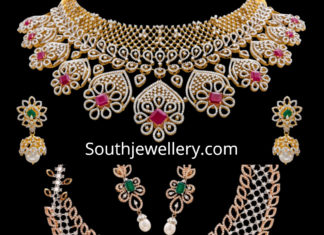 vaibhav jewellers diamond necklaces