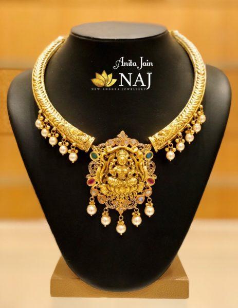 kanthi nakshi necklace