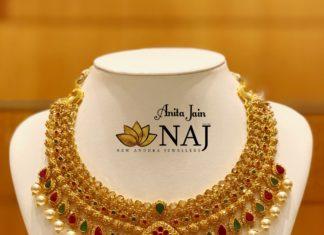 antique gold necklace