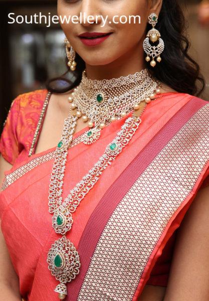 varshini in manepally diamond jewellery