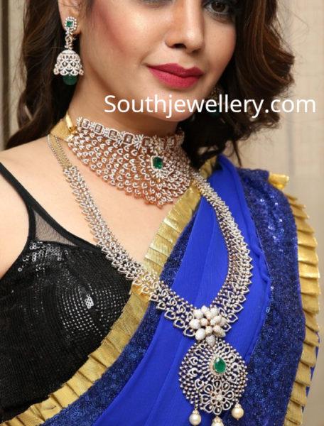 diksha panth manepally diamond jewellery
