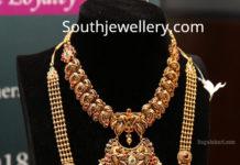 gold long chain designs manepally