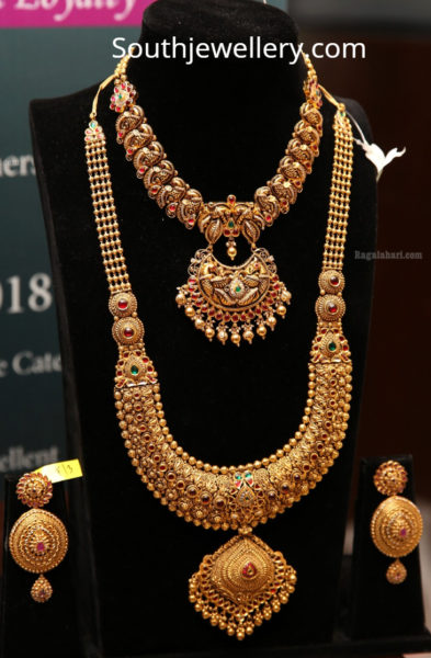 gold long chain designs manepally
