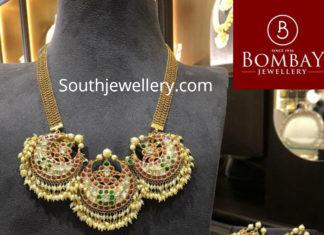 guttapusalu necklace earrings