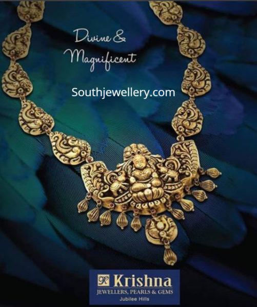 lakshmi nakshi necklace