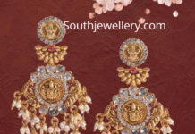 lakshmi pearl earrings