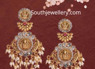 lakshmi pearl earrings