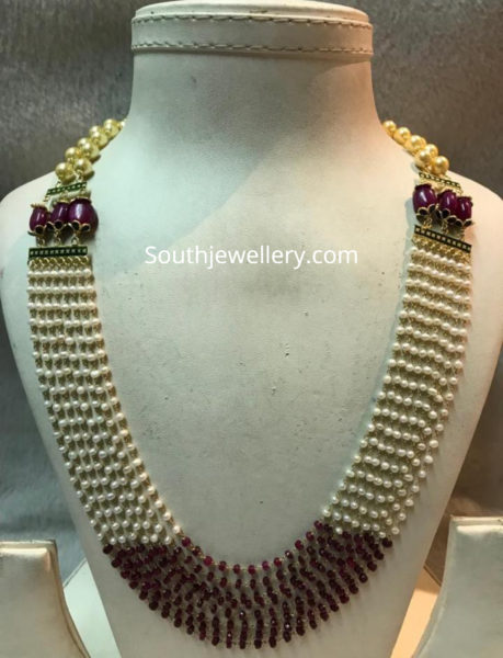 ligth weight pearl necklace