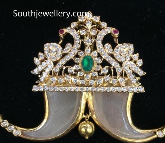 peacock diamond puligoru
