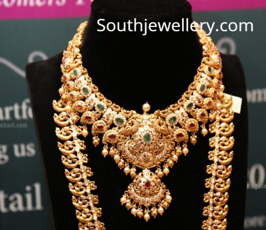 gold necklace designs manepally