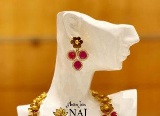ruby necklace naj jewellery