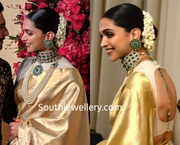 Deepika Padukone S Wedding Reception Jewellery