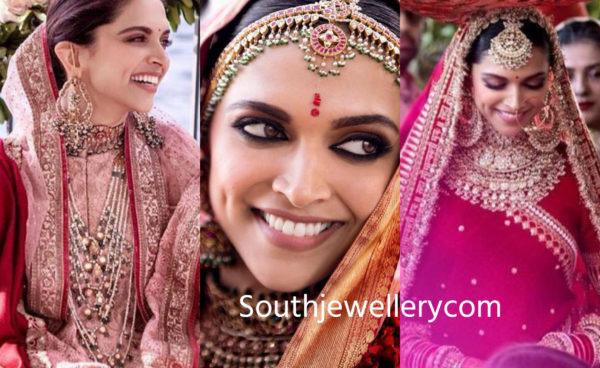 Deepika Padukone's Mehendi and Wedding Jewellery ...