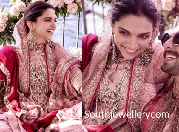 Deepika Padukone's Mehendi and Wedding Jewellery - Indian ...