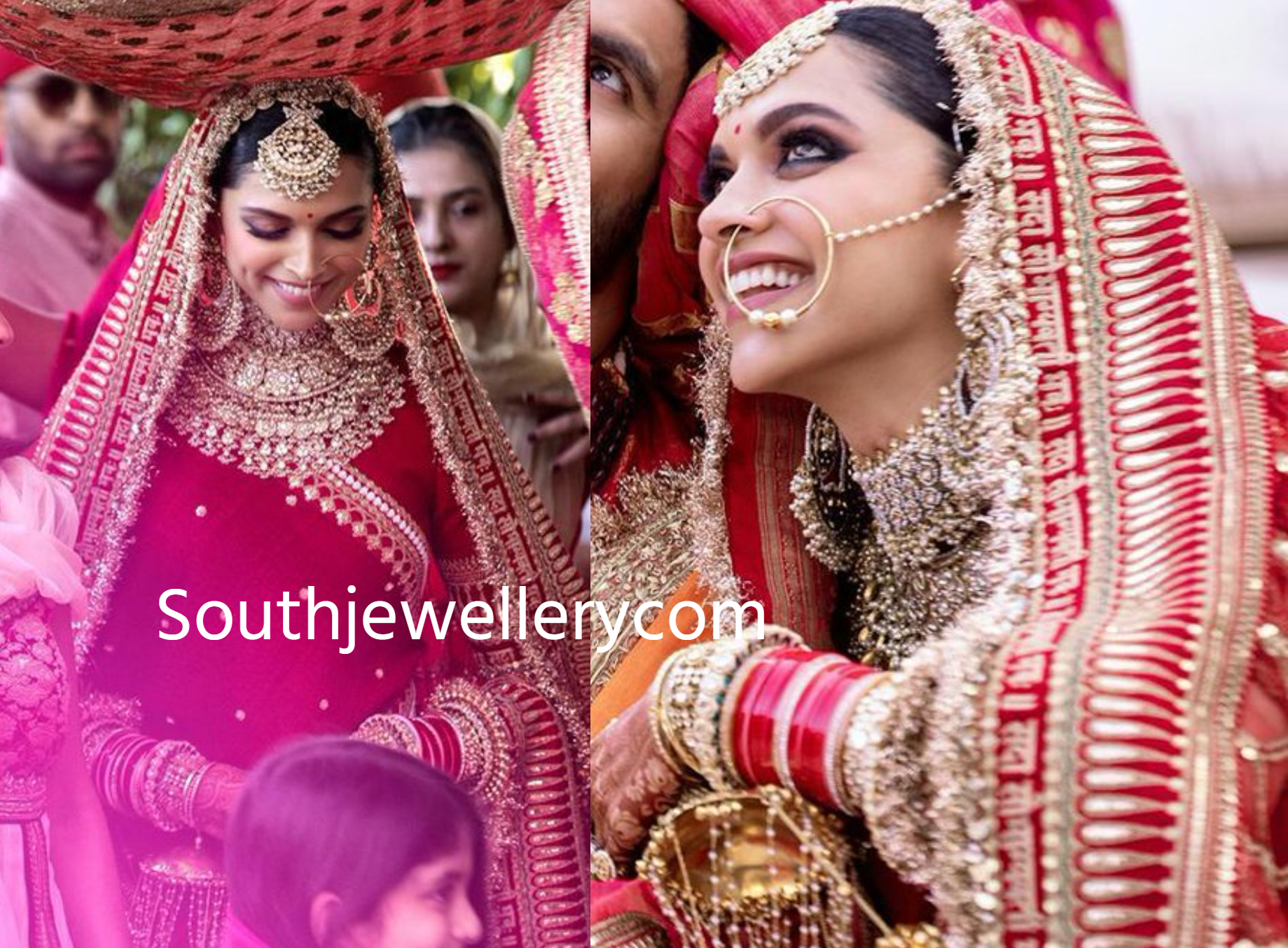 Deepika Padukone's Mehendi and Wedding Jewellery - Indian ...