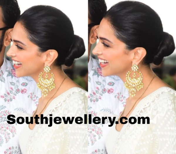 deepika padukone sabyasachi earrings
