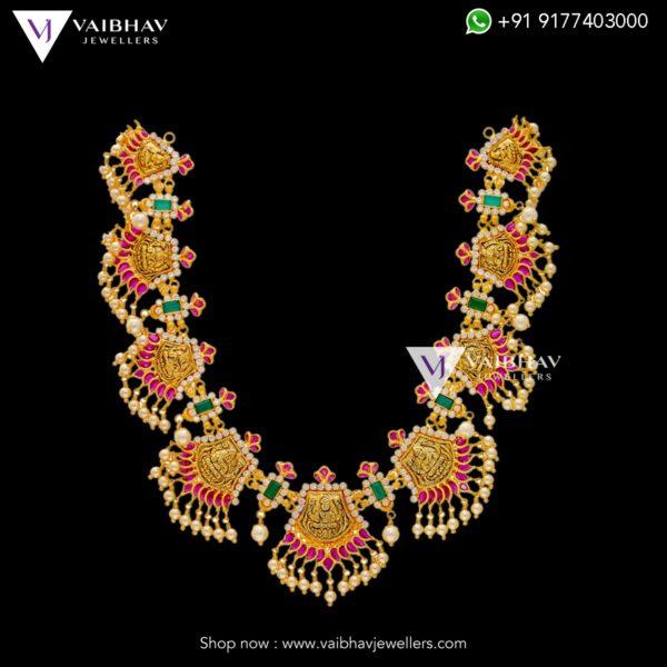 antique gold necklaces