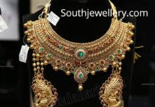antique gold necklace and gundla mala