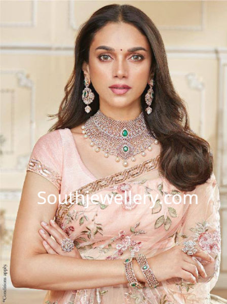 GRT JEWELLERS DIAMOND NECKLACE COLLECTION