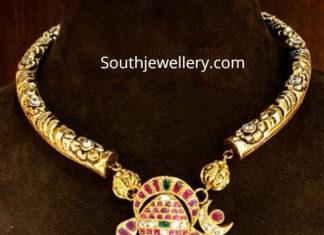 kanthi necklace with ganesh pendant