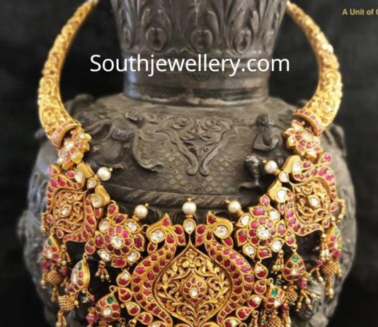kundan haram kalasha fine jewels