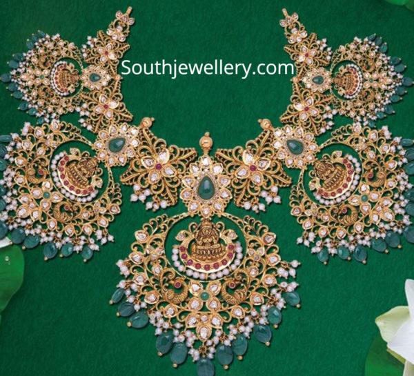 lakshmi guttapusalu necklace